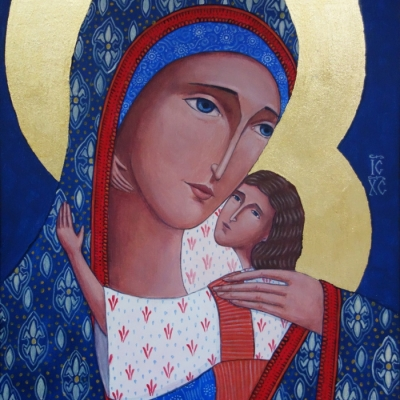 Matka Boża Czuła (Eleusa) III