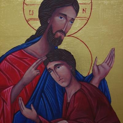 Jezus ze św. Janem