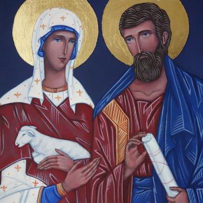 Św. Agnieszka i św. Jakub