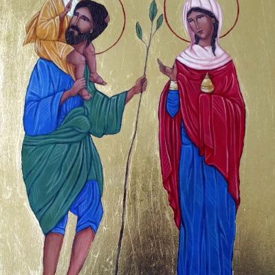 Św. Krzysztof i św. Joanna