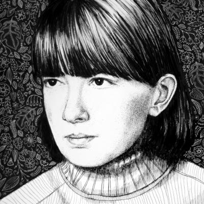 Rysunek na papierze, 21x30 cm