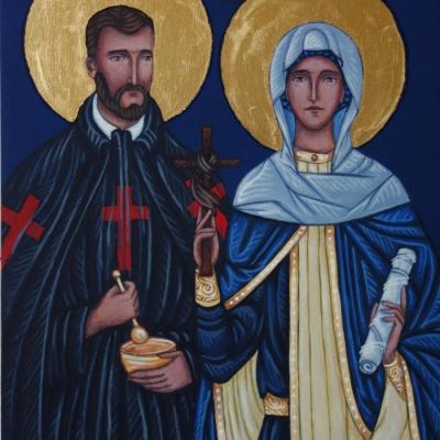 Św. Kamil i św.Nina