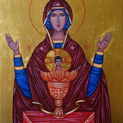 Matka Boża Kielich Niewyczerpany