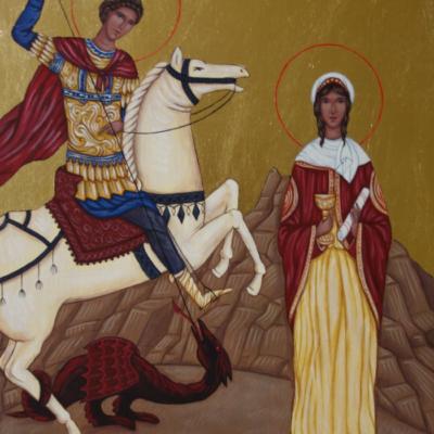 Św. Jerzy i św. Barbara