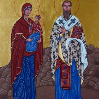 Św. Anna i św. Sławomir