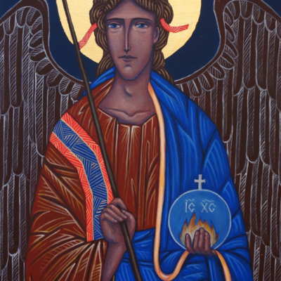 Archanioł Michał, 20x30, 540 zł