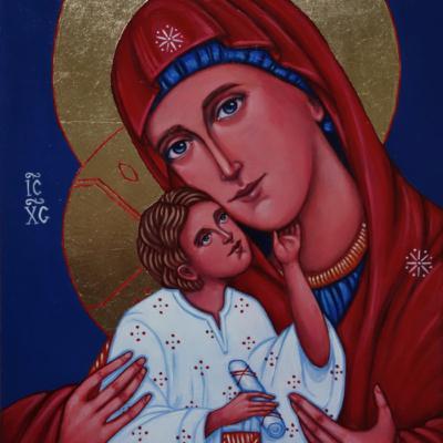 Matka Boża Czuła (Eleusa) IV